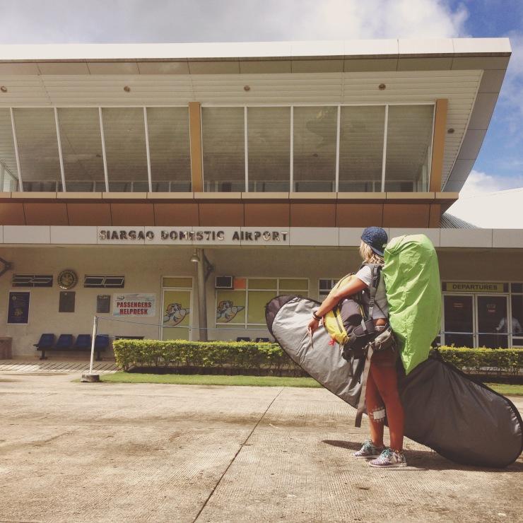 Aéroport de Siargao, Philippines. Semaine 25.